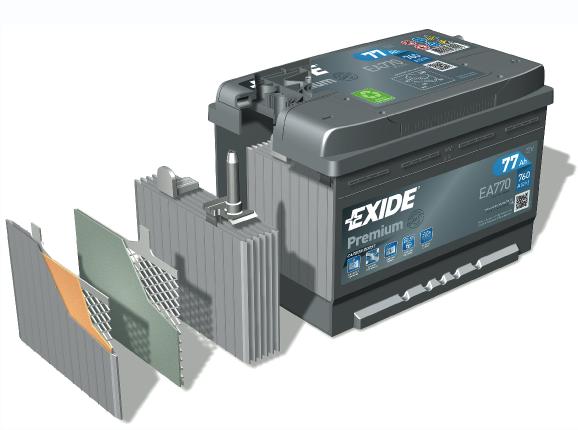Exide Premium Battery
